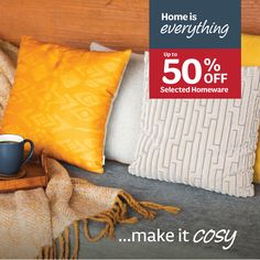 Home is everything..make it cosy with up to 50% off selected homewares. Record Player Stand, Decoration, Cosy, Everything, The Selection, Kids Room, Room Decor, Throw Pillows, Make It Yourself