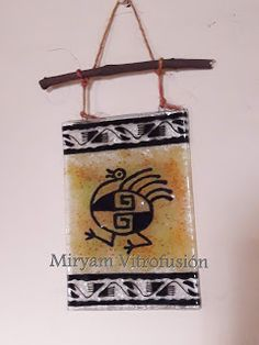 Fused Glass, Art Projects, Pottery, Christmas Ornaments, Holiday Decor, Crafts, Painted Sticks, Shamanism, Dibujo