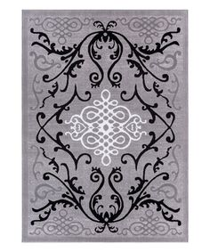 Loving this Gray Papaya Rug on #zulily! #zulilyfinds