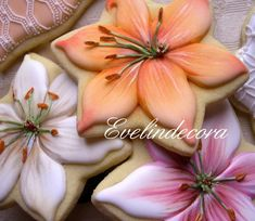 Lilium Cookies- WOW these are amazing!