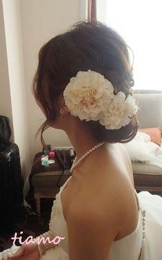 ♡かわいい花嫁さまのこだわりwedding style♡ | 大人可愛いブライダルヘアメイク 『tiamo』 の結婚カタログ