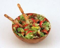 Jeannette's salad  by linsminis, via Flickr