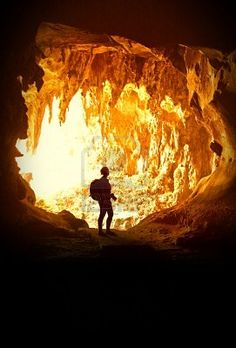 Caving in Borneo, Malaysia at Gunung Mulu National Park. Sarawak is largest cave chamber in the world!