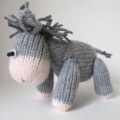 Ravelry: Bobbin the Donkey pattern by Amanda Berry