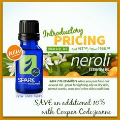 Spark Naturals has a new product today and it's being launched with an introductory price.  SAVE an additional 10% when using Coupon Code: jeanne  (no membership required) http://sparknaturals.com/index.php/?id=525