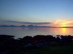I'm proud to say I took this - #sunset at #PortBan #Kilberry #Argyll #Scotland