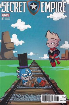 Marvel Secret Empire comic issue 1 Limited Skottie Young variant