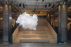 Berndnaut Smilde's Nimbus at NewuHouse