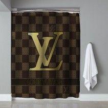 94f2e230960d Louis Vuitton Dark Coklat Shower Curtain Luxury Handbags