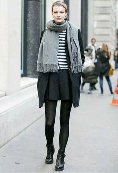 como-usar-saia-inverno
