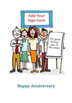 15 Best New Job Anniversary Cards For Recruitment And Hr Images