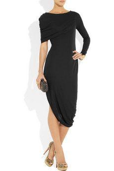 Amanda Wakeleycrepe-jersey dress...va-va voom