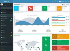 25 Free Best Quality Bootstrap Admin Templates