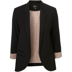This blazer looks like it needs a home... What do you know I have an empty hanger in my closet! :P
