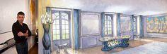 AD Intérieurs 2012. Le salon parisien de Francis Sultana.