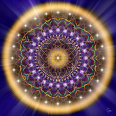 Sacred Geometry 150 by Endre Balogh