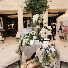何度見てもやっぱり好き! ゲストの人が何枚も写真撮ってくれててほんと嬉しい◡̈♥︎ #卒花#ウェルカムスペース#jomalone #wedding#weddingparty #結婚式