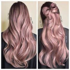 Capelli al top quest\'estate con il pink champagne #capelli #hair #makeup #beauty #pinkchampgnehair #haircolor