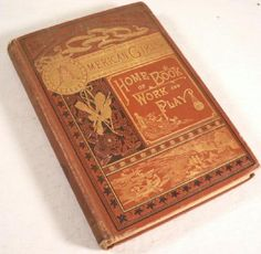 Author Name    Campbell, Helen  Title   The American Girl's Home Book of Work and Play  Binding   Hard Cover Publisher   New York G. P. Putnam's Sons 1884