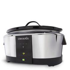 """Crock-Pot® Smart Slow Cooker enabled with WeMo"""" nasce da una collaborazione fra Belkin e Jarden Consumer Solutions e si può controllare con il cellulare"""