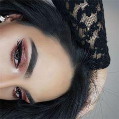 #AnastasiaBrows @makeupbyamtul BROWS: #Dipbrow in Ebony EYES: Modern Renaissance palette & Master Palette by Mario #anastasiabeverlyhills