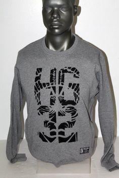 NWT HUSTLE GANG RAGE GREWNECK SWEATSHIRT 2418304 #HustleGang #SweatshirtCrew