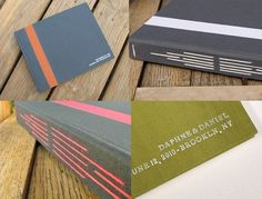 WhiteSparrowBindery - custom longstitch guestbooks