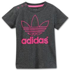 adidas Infants & Toddlers Trefoil Tee