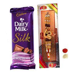 Rakhi with Choco Delight