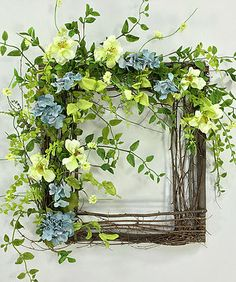 Crooked Tree Creations | Spring Floral Decor, Wreaths, Arrangements