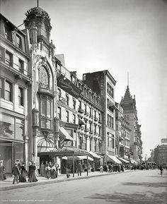 Tremont Street: Boston, 1906