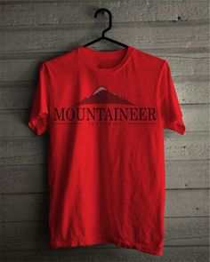 "T-Shirt Official Merchandise of ""Backpacker Yogyakarta"" Material Details  Cotton Cotton Combed 30s  Color : Maroon Select Size : S, M, L, and XL Code : Mountaineer"