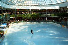Ice Palace in West Edmonton Mall - Edmonton Canada
