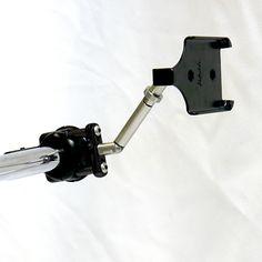 iPhone Mount w/Extension - Universal Brake/Clutch (Black)