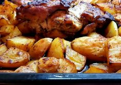Chicken Wings, Potatoes, Cooking Recipes, Meat, Vegetables, Food, Potato, Chef Recipes, Essen
