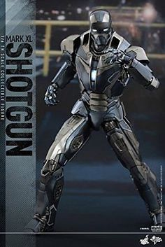 Hot Toys Marvel Iron Man 3 Iron Man Mark XL 40 Shotgun Scale Figure License: Marvel Scale: Sixth Scale Figure Manufacturer: Hot Toys Iron Man 3, All Iron Man Suits, Iron Man Fan Art, Hot Toys Iron Man, Iron Man Armor, Marvel Dc, Marvel Heroes, Marvel Characters, Anime Characters