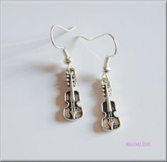 Violin Earrings, Charms £4.00