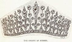 Tiara Mania: County of Surrey Tiara