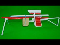 How To Make a Paper Sniper Rifle - (Shoots 5 Bullets) - YouTube