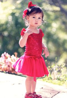 Bunnies Picnic - Dolls & Divas Red Sequin Amy Tutu Dress - Girls Boutique Clothes