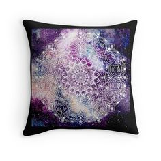 Space Cosmic Mandala  Tapestry. T shirt, Dress, phone cover, ipad case, laptop skin, poster, canvas print, photo print, art board, throw pillow, mug, clock, acrylic bloc, tote bag, studio pouch, drawstring bag.
