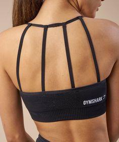 758e215029 Gymshark Energy Seamless Sports Bra - Black