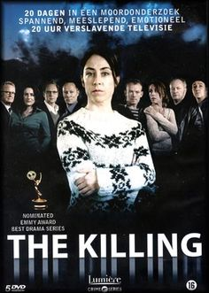The Killing, a Sarah Lund mystery.  Cant wait for Series 4
