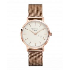 Buy Women's Watches Online | ROSEFIELD Watches http://www.thesterlingsilver.com/product/daniel-wellington-glasgow-silver-womens-quartz-watch-with-white-dial-analogue-display-and-multicolour-nylon-strap-0602dw/