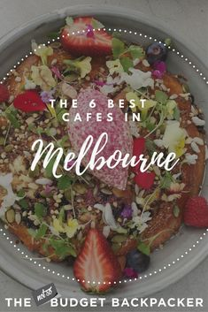 From brioche french toast, to super healthy brekki bowls and naughty injectable donuts, here are the 6 best Melbourne coffee shops. Melbourne Breakfast, Melbourne Coffee, Melbourne Travel, Melbourne Food, Melbourne Australia, Best Breakfast, Breakfast Recipes, Best Coffee Shop, Coffee Shops