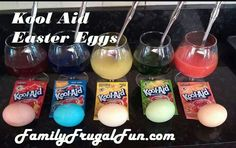 Dying Easter Eggs Made Easy