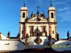 Santuário do Bom Jesus de Matosinhos e dos 12 Profetas, Congonhas, Minas Gerais.