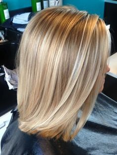 58 Super Hot Long Bob Hairstyle Ideas That Make You Want To Chop Your Hair Right Now Ecemella Sleek Lob Haircut Choppy Bob Hairstyles, Long Bob Haircuts, Lob Haircut Thin, Blonde Hairstyles, Medium Hair Styles, Short Hair Styles, Honey Blonde Hair, Thin Blonde Hair, Super Blonde Hair