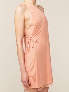 3.1 Phillip Lim Asymmetrical Silk Jersey Floating Dress