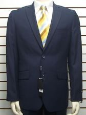 Men's Navy Blue Slim Fit Dress Suit SIZE 46R NEW